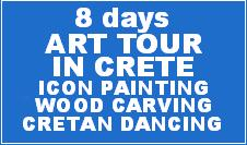 ART TOUR: PAINTING - DANCING - WOOCARVING